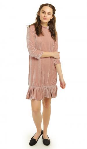 Платье 46 ТВОЕ. Цвет: розовый