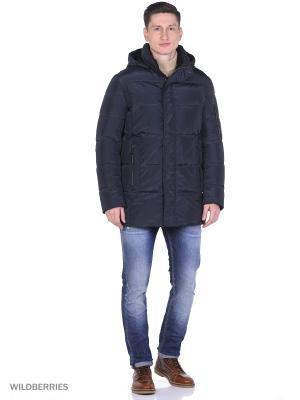 Куртка SNOWIMAGE. Цвет: синий