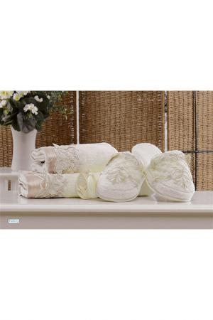 Набор для ванной 50x90, 70х140 MINTEKS. Цвет: белый