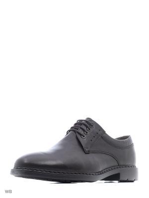 Туфли WOODS. Цвет: темно-коричневый