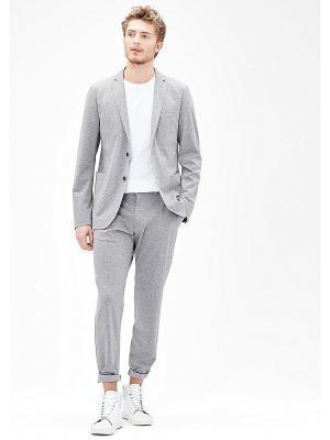 Пиджак S.OLIVER. Цвет: серый меланж, серо-зеленый
