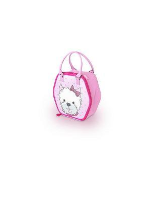 Детская сумка-термос Puppy Days Novelty Thermos. Цвет: розовый