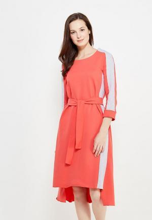 Платье Love & Light. Цвет: коралловый
