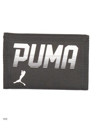 Кошелек PUMA Pioneer Wallet. Цвет: черный