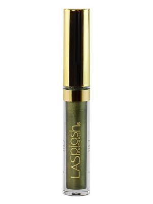 Жидкая матовая помада для губ Lip Couture, оттенок 14223 зеленое золото LASplash. Цвет: оливковый