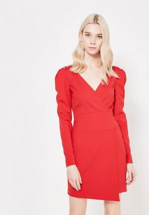 Платье Patrizia Pepe. Цвет: красный
