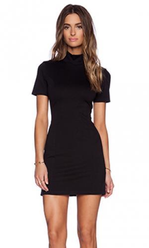 Мини платье BLQ BASIQ. Цвет: черный