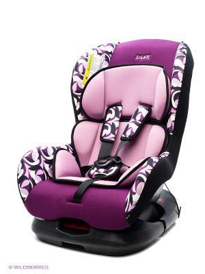 Детское автомобильное кресло НАУТИЛУС  коллекция ART SIGER. Цвет: фиолетовый