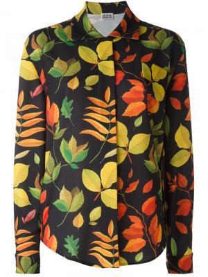 Leaf print shirt Arthur Arbesser. Цвет: многоцветный