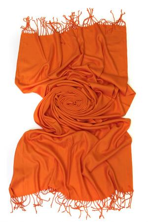 Палантин Frantelli. Цвет: оранжевый