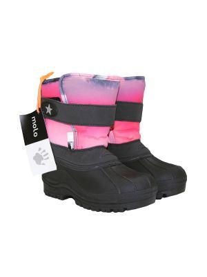Сапоги Molo. Цвет: розовый