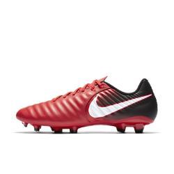Футбольные бутсы для игры на твердом грунте  Tiempo Ligera IV Nike. Цвет: красный