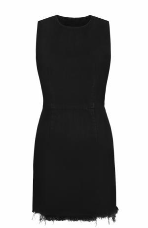 Джинсовое платье с декоративной отделкой Denim X Alexander Wang. Цвет: черный