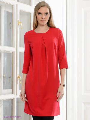 Платье Capriz. Цвет: красный