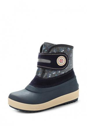 Резиновые ботинки Olang. Цвет: синий