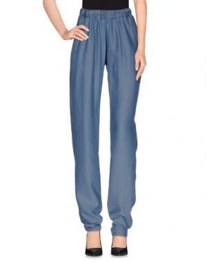 Повседневные брюки HARTFORD. Цвет: синий