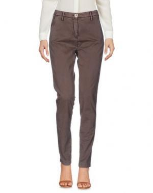Повседневные брюки NICWAVE. Цвет: какао