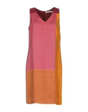 Короткое платье NICE THINGS BY PALOMA S.. Цвет: пурпурный