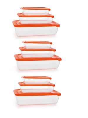 Контейнеры из полимеров Полимербыт. Цвет: оранжевый