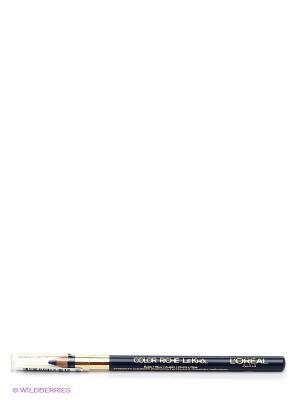 Карандаш для глаз Color Riche, Le Khol, оттенок 107, Синий Неаполь, 4 г L'Oreal Paris. Цвет: синий