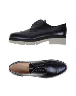 Обувь на шнурках GIORDANA F.. Цвет: темно-синий