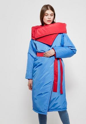 Куртка утепленная Magwear. Цвет: разноцветный