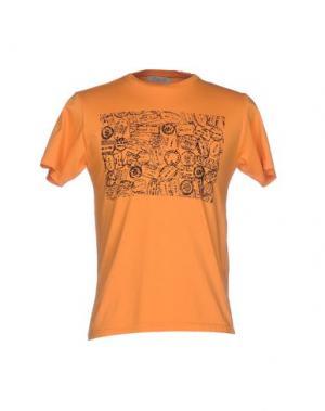 Футболка ALV ANDARE LONTANO VIAGGIANDO. Цвет: оранжевый