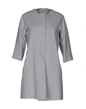 Легкое пальто TROU AUX BICHES. Цвет: светло-серый