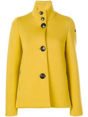 Пальто с отворотом Rrd. Цвет: жёлтый и оранжевый