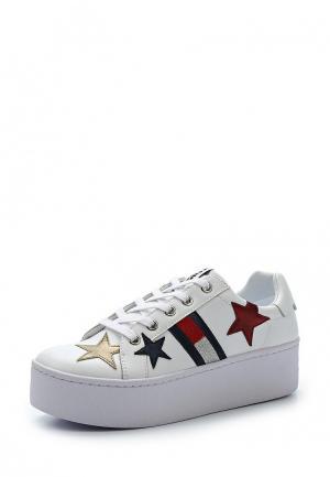 Кеды Tommy Jeans. Цвет: белый