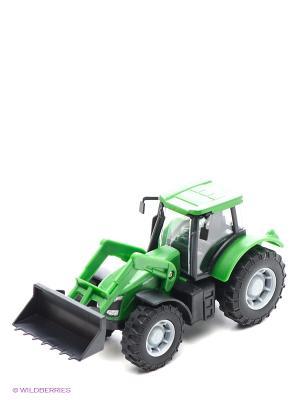 Фермерский трактор Зеленый HTI. Цвет: зеленый