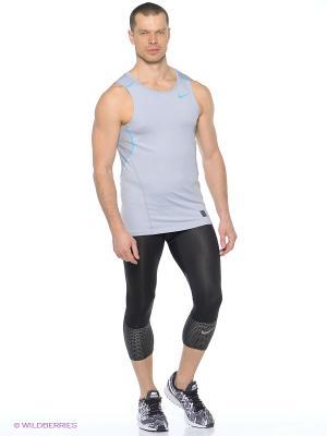 Майка HYPERCOOL FTTD TANK Nike. Цвет: серый, голубой