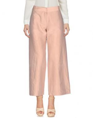 Повседневные брюки DANIELA PANCHERI. Цвет: телесный