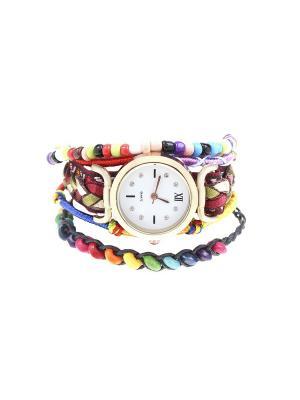 Браслет-часы Olere. Цвет: желтый, оранжевый, розовый