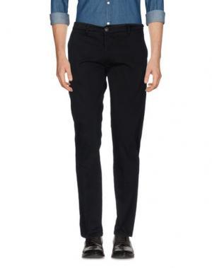 Повседневные брюки ONE SEVEN TWO. Цвет: черный
