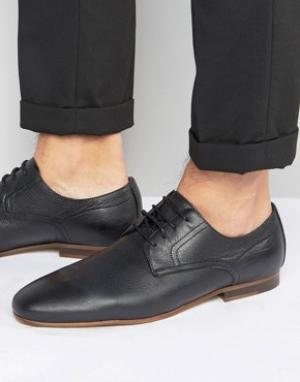Zign Кожаные туфли на шнуровке. Цвет: черный