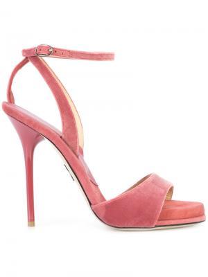 Classic sandals Paul Andrew. Цвет: розовый и фиолетовый