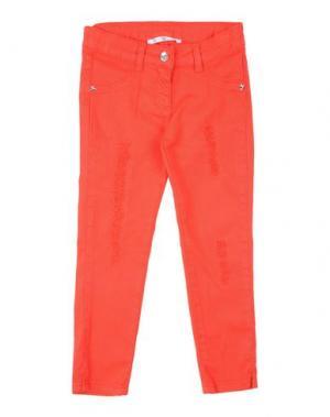 Джинсовые брюки L:Ú. Цвет: красный