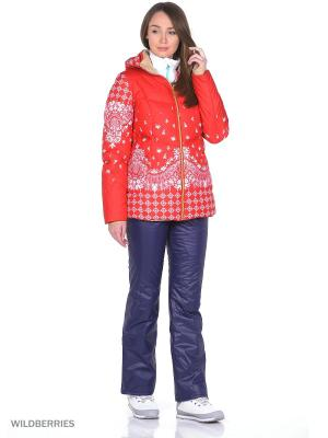 Куртка Stayer. Цвет: коралловый, бежевый, красный