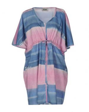 Короткое платье MOOMIN. Цвет: розовый