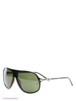 Солнцезащитные очки MB 327S 03N Montblanc. Цвет: черный