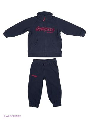Спортивный костюм Bergans. Цвет: темно-синий, розовый