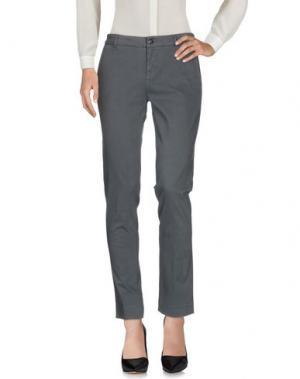 Повседневные брюки PEUTEREY. Цвет: серый