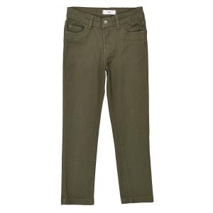 Узкие брюки, 3-12 лет La Redoute Collections. Цвет: зеленый хаки,коричнево-желтый
