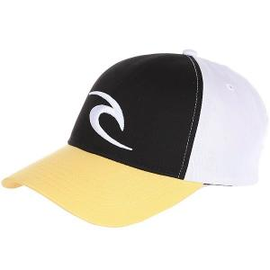 Бейсболка классическая  Icon Snapback Cap Spicy Mustard Rip Curl. Цвет: желтый,белый,черный