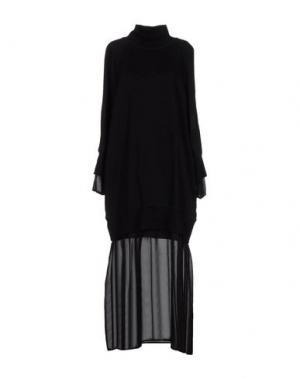 Длинное платье TILL.DA. Цвет: черный