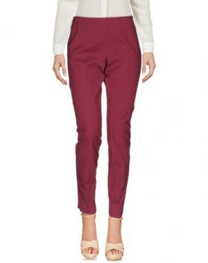 Повседневные брюки MALÌPARMI. Цвет: пурпурный