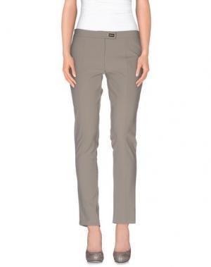 Повседневные брюки CRISTINAEFFE. Цвет: серый