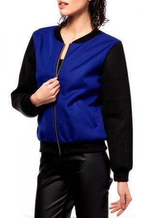 Куртка BeWear. Цвет: синий