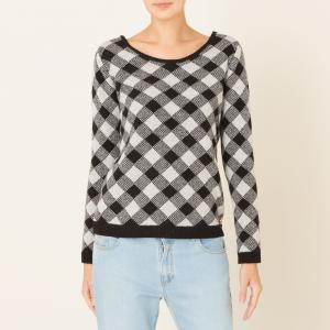 Пуловер TEBALDI HARRIS WILSON. Цвет: черный/ белый